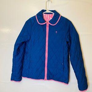 Lilly Pulitzer Minnie Girls Coat Jacket Reversible